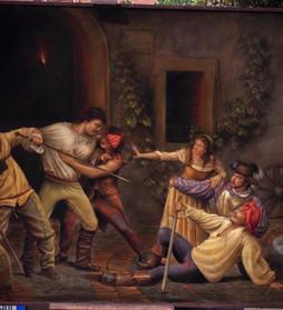 Guido Venanzoni scelto da Vittorio Sgarbi per dipingere la vita di Caravaggio