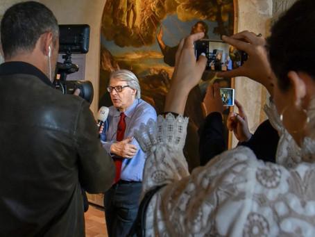 """Sgarbi: """"Il Museo Di Palazzo Doebbing Riparte"""" Con Gli """"Incontri A Sutri. Da Giotto A Pasolini"""