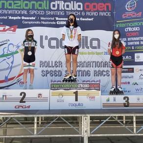 La DEBBY ROLLER TEAM conquista 12 Medaglie agli Internazionali d'Italia Open 2021