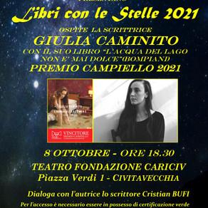 Giulia Caminito a Civitavecchia