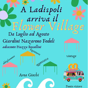 Arriva il Flower Village