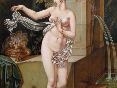 Il dipinto che affondò con il Titanic, la Bagnante di Blondel