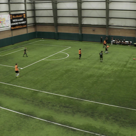 Drone footage of the tryouts!