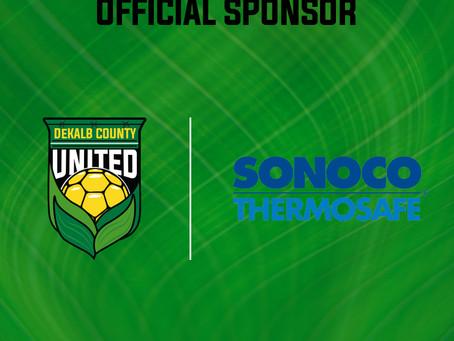 Sonoco Announced As Club-Wide Sponsor