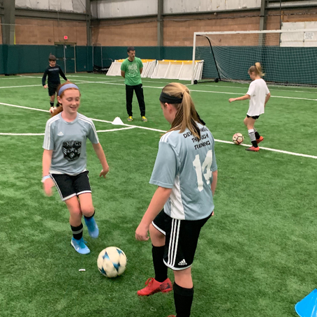 Highlights from the Fall Soccer Camp