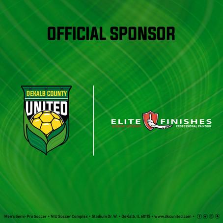 Elite Finishes Announced As Returning Sponsor
