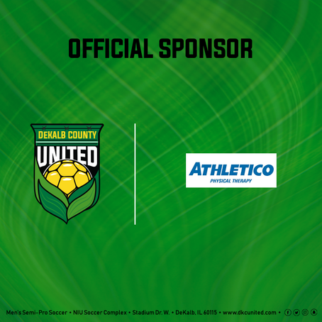 Athletico Physiotherapy New Club Sponsor