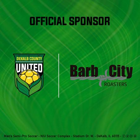 Barb City Roasters New Club Sponsor