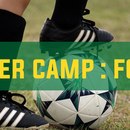 Sign Up For Our Fall Soccer Camp
