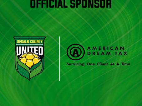 American Dream Tax As Club Sponsor