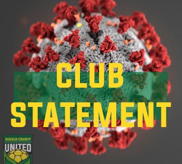 COVID-19 : Club Statement
