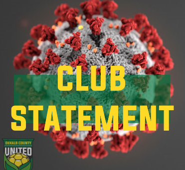 COVID-19 : Club Statement