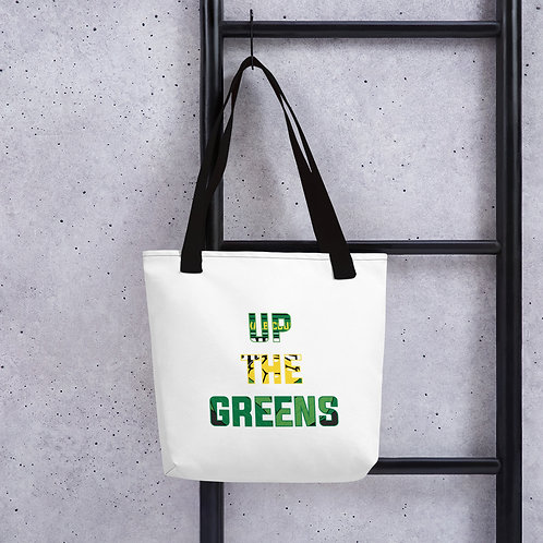 """Up The Greens"" Tote bag"