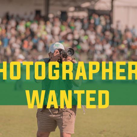 Volunteer Photographers Wanted!