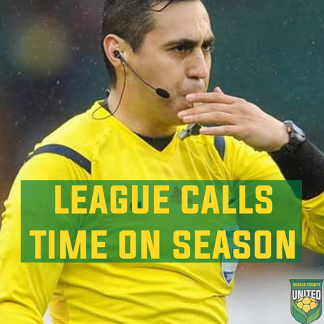 League Calls Time On Season