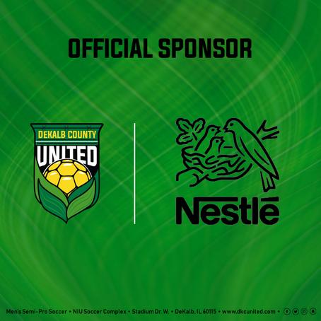 Nestle Announced As Returning Sponsor