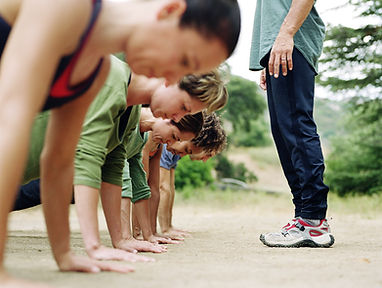 Group Training Outdoors