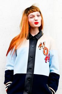 Photographer : Jemima Marriott  model : Domi  Hair : Issey Hyde  Make-up : Alex Chalke