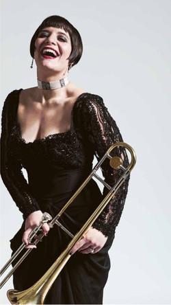 Jazz Artist Aubrey Logan for The Protagonist