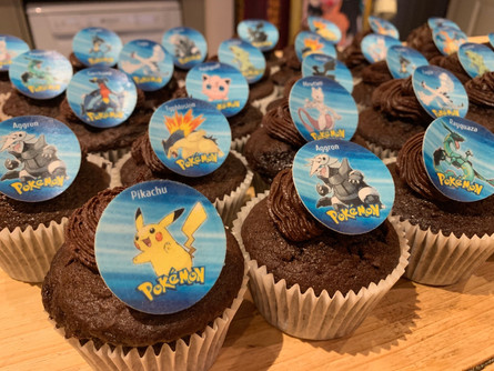 Party bag cupcakes