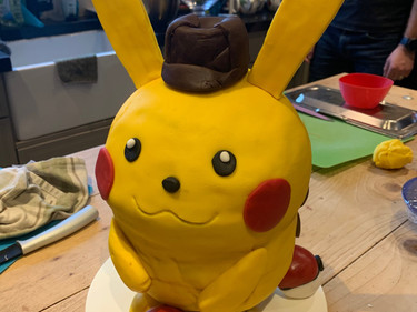 Pokemon 3D cake