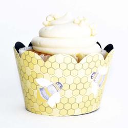 Bumble bee cupcake