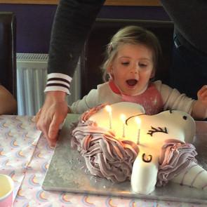 My daughter turns 3!!