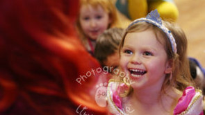 Are you in the birthday party photos?