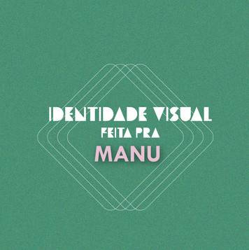 Identidade Visual Manu Benigno