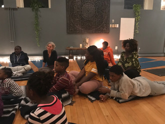 Raising Awareness at All That Matters Yoga Studio