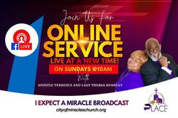 Sunday Morning Worship!