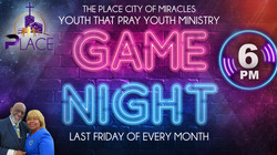 Youth That Pray Game Night. Last Friday of Every Month at 6:00PM