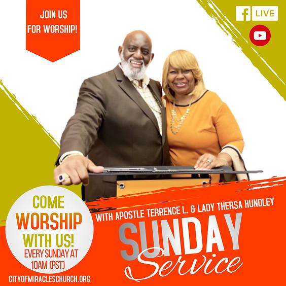 Sunday Service November 21, 2021