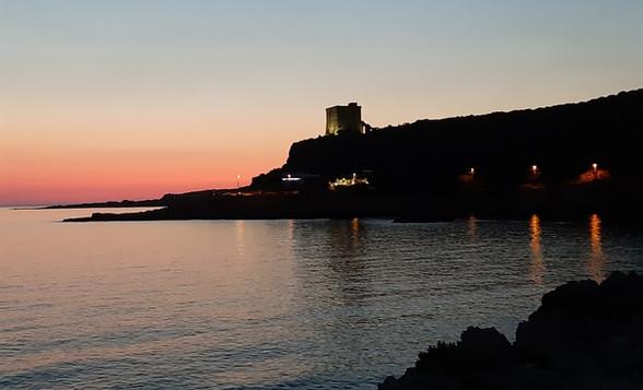 tramonto santa caterina torre dell'alto