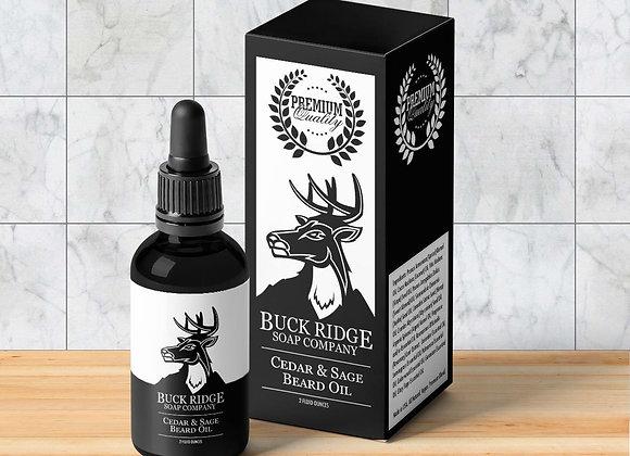 Cedar & Sage | Beard Oil