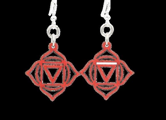 Muladhara Chakra Earrings