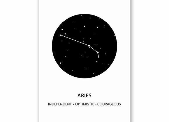 Canvas Poster Print - Zodiacs & More