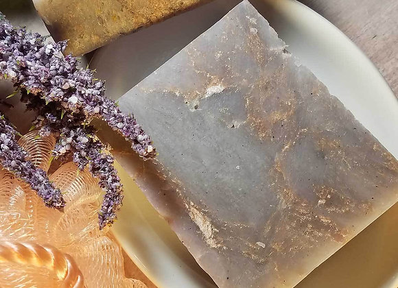 Handmade Soap - Amethyst and Gold