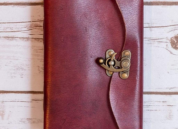 Handmade Latch Journal - Leather