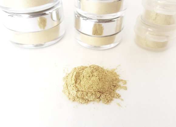 Vegan | Make-Up Powder | Gold Sparkle