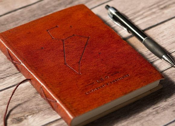 Leo | Genuine Leather Journal | Handmade