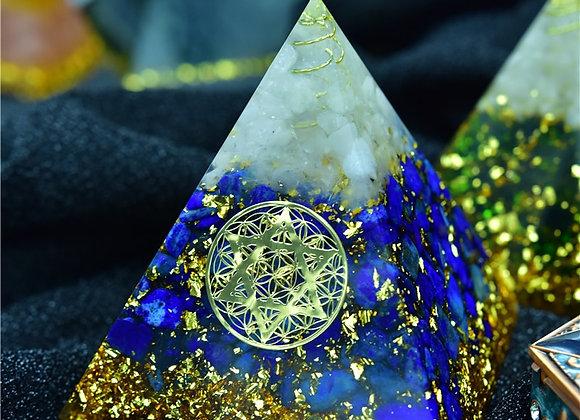 Orgonite Pyramid - Lapis Lazuli
