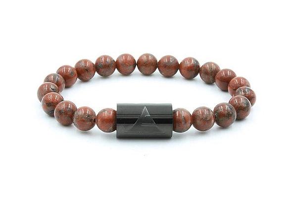 Red Sesame Jasper - Bracelet