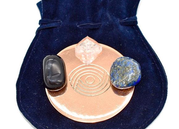 Copper & Crystal Trios