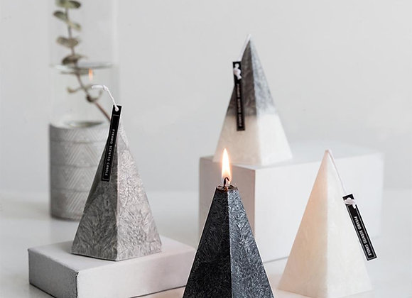 Nordic Style Pyramid Candle