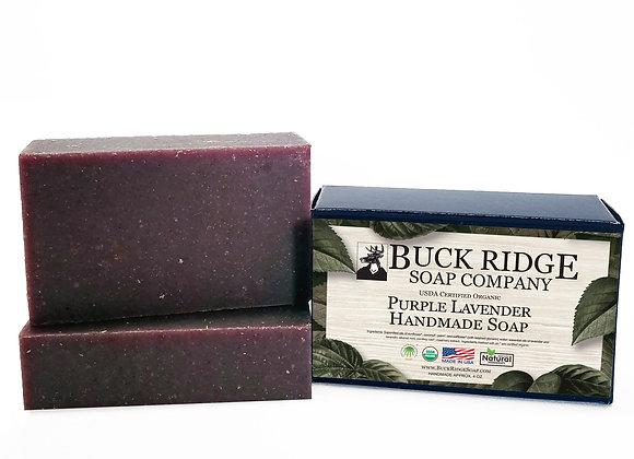 Lavender Handmade Soap - USDA Certified Organic