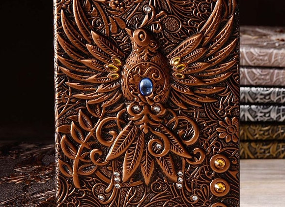 Vintage Style Phoenix Journal