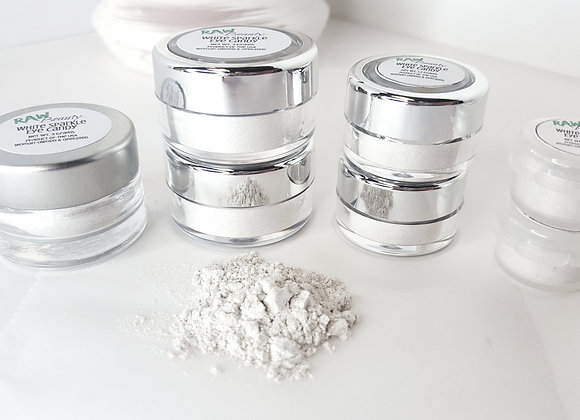 Vegan | Make-Up Powder | White Sparkle