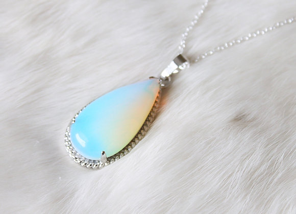 Opalite Necklace - Handmade