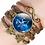 Thumbnail: Copper & Leather Zodiac Bracelet